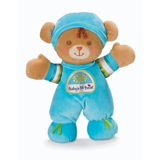 Fisher Price Brilliant Basics Polyester/Fabric Babys First Bear