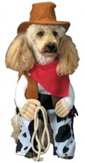 Pet Cowboy Dog Halloween Costume For Large Dogs Clothing