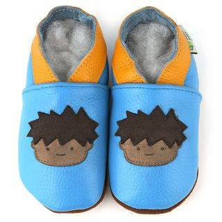 Little Boy Soft Sole Leather Baby Shoes