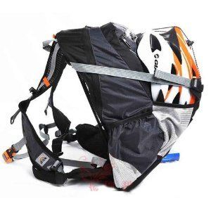 Giant Gray Bicycle Bag Mountain Bike Packsack Backpack