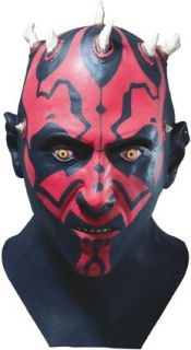 Deluxe Darth Maul Mask   Adult Star Wars Mask Clothing