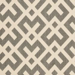 Poolside Grey/ Bone Indoor Outdoor Rug (9 x 12)