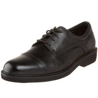 Rockport Mens Kaverin Oxford,Black Leather,7 M US Shoes