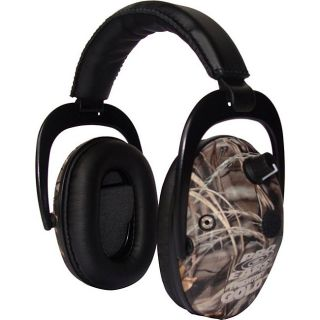 Pro Ears Predator Gold NRR 26 Real Tree Advantage Max 4 Camo Ear Muffs