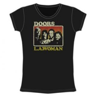 The Doors   LA Woman Ladies T Shirt   Large Clothing