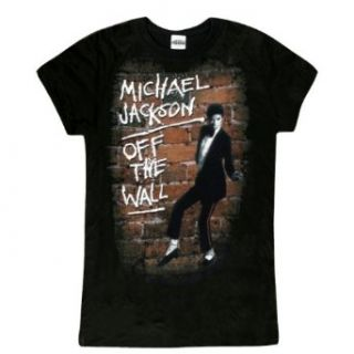 Michael Jackson   Off The Wall Juniors T Shirt Clothing