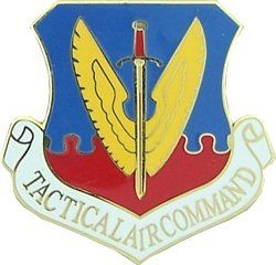 U.S. Air Force Tactical Air Command Large Pin Clothing