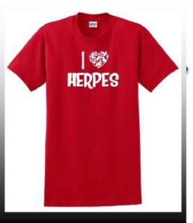 I Heart Herpes   Valentines Day Greetings   Lover T Shirt