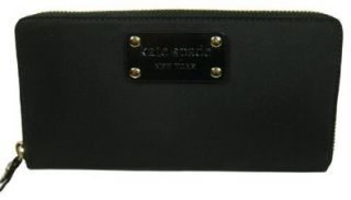 Kate Spade Neda Basic Nylon Black Wallet Shoes