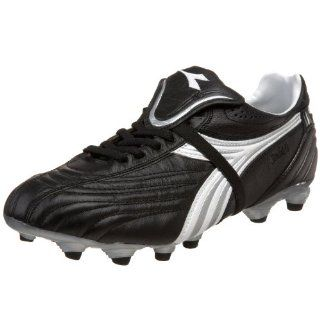Stile LT 10 K MG 14 Soccer Cleat,Black/White/Silver,12.5 M US Shoes