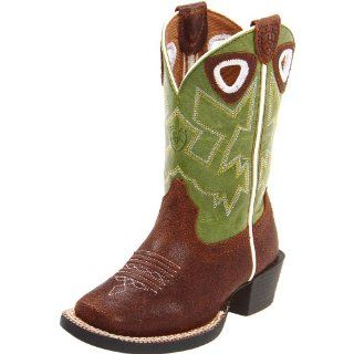 Workhog Square Toe Western Boot (Toddler/Little Kid/Big Kid) Shoes