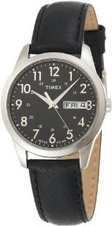 Timex Mens T2N107 Casual Dress Strap Watch Watches