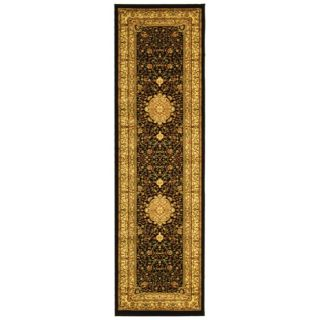 Lyndhurst Collection Mashad Black/ Ivory Rug (23 x 18) Today $141