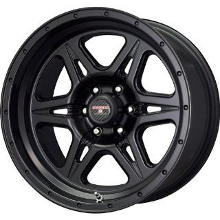 Level 8 Strike 6 Matte Black Wheel (16x8.5/6x114.3mm)