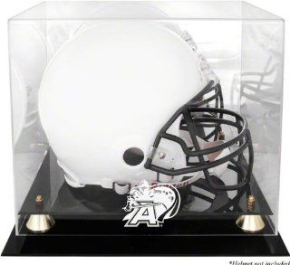 Army Black Knights Golden Classic Team Logo Helmet Display