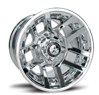 Fairway Alloys FA121 Illusion Chrome Golf Cart Wheel   10x7