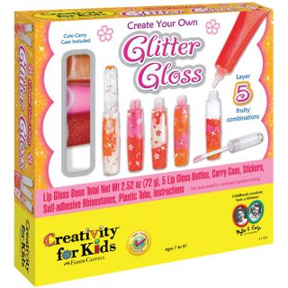 Creativity for Kids Create Your Own Glitter Lip Gloss Kit