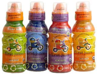 First Juice Organic Fruit & Veggie Variety Pack, 8 Ounce Sippy top
