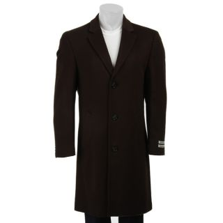 Kenneth Cole New York Mens Wool/ Cashmere Blend Car Coat