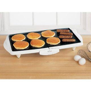 Rival GR201 20  ich Cool Touch White Griddle