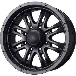 MB Wheels Gunner 8 Matte Black Wheel (20x10/8x170mm)