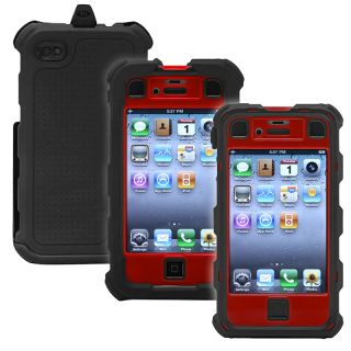 Ballistic Apple iPhone 4/ 4S Black/ Red Hard Core Case