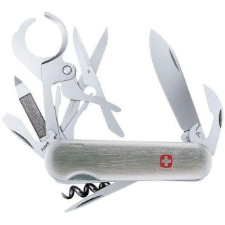 Wenger Cigar Cutter Swiss Army Knife with Scissors