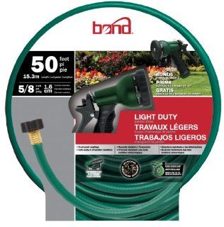 Bond 70287 Light Duty 50 Foot Garden Hose Combo Patio