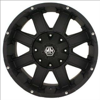 Mayhem Chaos 8030 Matte Black Wheel (18x9/8x180mm)