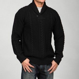 French Connection Mens Shawl Collar Wool Blend Sweater FINAL SALE