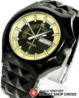 Diesel Sport Plastic Bracelet Black Dial Mens watch #DZ1218 Watches