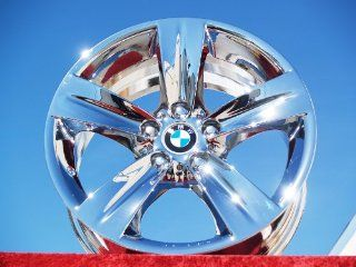 BMW 335i SportStyle 189 Set of 4 genuine factory 18inch chrome wheels