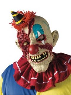 Fearsome Faces Clown Mask Accessory Clothing