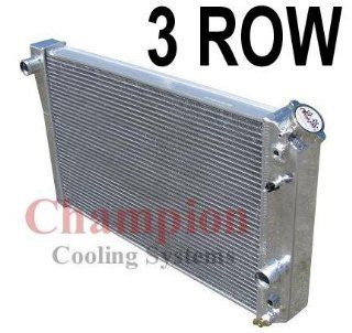 Row All Aluminum Replacement Radiator for the 1984 1990 Chevy