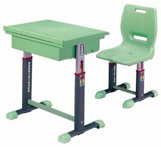 ST2006 Height Adjustable Desk and Chair Set   Childrens