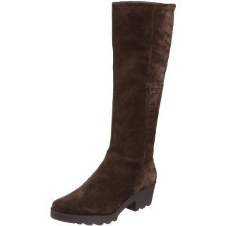Calvin Klein Womens Darline Knee High Boot,Dark Brown,9.5 M US Shoes