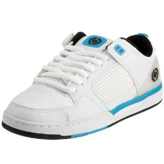 Circa TONY TAVE White / Cyan / Black Mens Skate Shoes SZ 6 Shoes