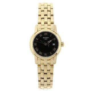 Tissot Womens T031.210.33.053.00 Ballade III Polished Gold Stainless