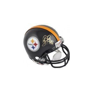 TROY POLAMALU PITTSBURGH STEELERS SIGNED AUTOGRAPHED MINI