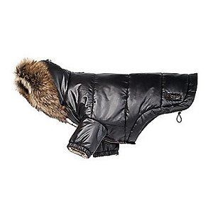 COACH Puffer Dog Coat with Removable Real Spanish