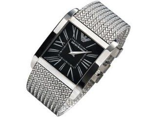 Armani Classic Collection Super Slim Black Dial Mens watch #AR2012