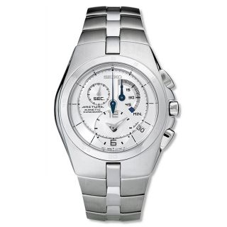 Seiko Arctura Stainless Steel Mens Chronograph Watch