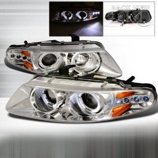 1997 2000 Dodge Avenger Halo Led Projector Headlights Chrome