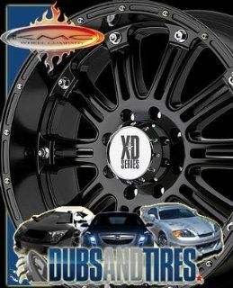 18 Inch 18x9 KMC XD SERIES wheels HOSS Gloss Black wheels rims