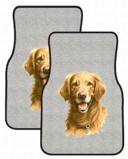 Golden Retriever Head   Sporting Dogs   Gray   Car and Truck Front