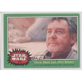 Uncle Owen Lars (Trading Card) 1977 Star Wars #238