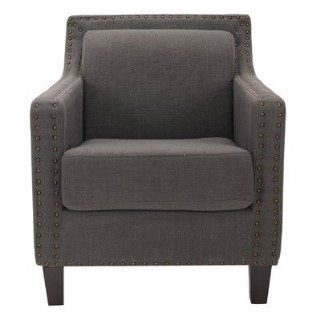 Safavieh Mercer Collection Gregory Grey/Blue Arm Chair