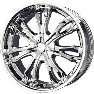Liquid Metal Ice Series Chrome Wheel (22x9.5/6x139.7mm)
