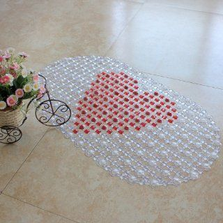 Mats Bathroom Mat with 149 Suction Cups, 69 X 39 Cm